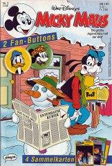 Micky Maus 2/1991 (m. Beilagen / Z:1+)