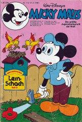 Micky Maus 14/1981 (m. Beilage / Z:2+)