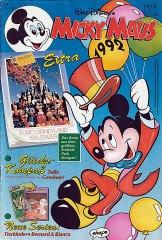 Micky Maus 1/1992 (m. Beilagen / Z:1-)