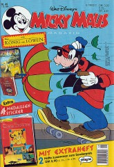 Micky Maus 49/1994 (m. Beilage / Z:1+)