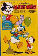 Micky Maus 25/1979 (m. Beilage / Z:2+)