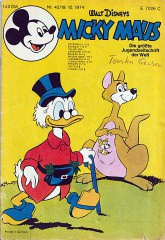 Micky Maus 42/1974 (Z:1-2)