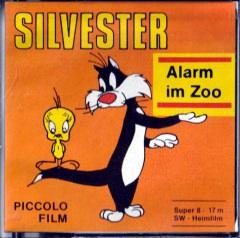 Silvester: Alarm im Zoo. Super 8 Schmalfilm 17m. Piccolo Film