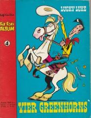 Fix und Foxi Album 4: Lucky Luke - Vier Greenhorns [blauer Titel]