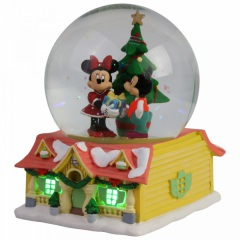 Mickey and Minnie Waterball (DEPARTMENT 56)