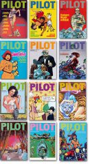 Pilot. Neue Comics für Erwachsene. 1. Jg., Nr. 1-12 (12 issues)