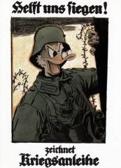 Postkarte Interduck Anonymes Plakat 1917