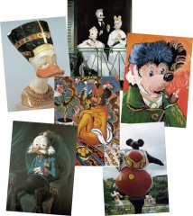 Postkartensatz Interduck mit 6 Karten / Satz #3