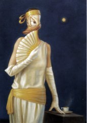 Postkarte Kaj Stenvall Die Nacht der Künste