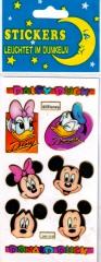 Sticker Donald & Daisy Duck (leuchtend)