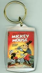 Schlüsselanhänger Comic-Heftcover Mickey Mouse in Jungle Magic