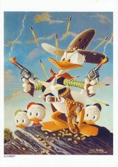 Postkarte Sheriff of Bullet Valley (Carl Barks)