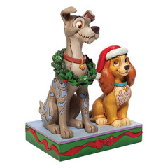 Susi und Strolch: Decked out Dogs DISNEY TRADITIONS Figur
