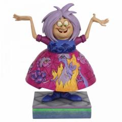 Madam Mim: Szene aus Die Hexe und der Zauberer DISNEY TRADITIONS Figur