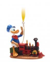 Weihnachtsbaumhänger Lokomotivführer Donald Duck DISNEY STORE