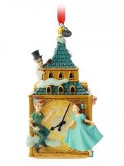 Weihnachtsbaumhänger Peter Pan auf Big Ben DISNEY STORE