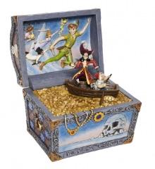Treasure strewn Tableau - Peter Pan Szene DISNEY TRADITIONS Figur
