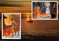 Postkarte Gruß vom Wasser mit Susi und Strolch