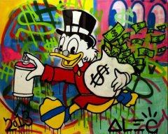 Alec Monopoly: Graffity Celebrity Portraits Canvas-Druck 40x30cm