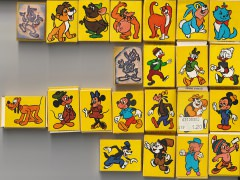 Stempel Disney diverse Charaktere 22 Stück