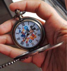 Micky Maus & Donald Duck Taschenuhr-Figur