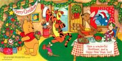 Weihnachtskarte Disney Merry Christmas Winnie Puuh (1960)