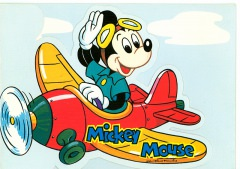 Briefkarte Mickey Mouse
