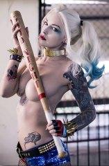Suicide Squad: Harley Quinn Canvas-Druck 30x40cm
