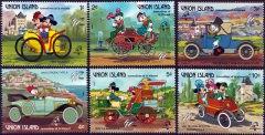 Briefmarkenteilsatz 1789-1989 Philexfrance 89 / Union Island Grenadines of St. Vincent