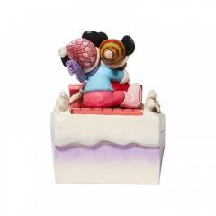 Sledding Sweethearts - Mickey & Minnie Schlittenfigur