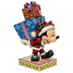 Here Comes Old St. Mick - Mickey Carrying Gifts Figur