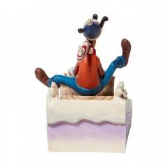 A Wild Ride - Goofy Schlittenfigur