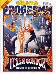 cinema Programm Flash Gordon – Das Heft zum Film