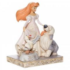 Arielle: Spirited Siren (DISNEY TRADITIONS) White Woodland Figur