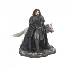 Jon Snow and Ghost Figur - Game of Thrones by Dept 56