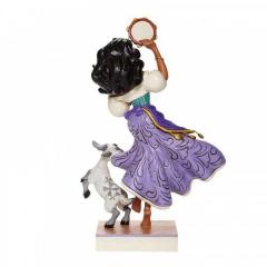 Esmeralda und Djali: Twirling Tambourine Player Figur