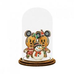 Micky & Minni Maus mit Schneemann Figur: Making Friends