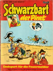 Schwarzbart der Pirat 15: Endspurt für die Feuermelder