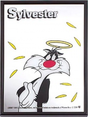 Spiegel Heiliger Sylvester 21x30cm