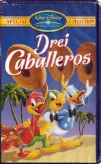 Drei Caballeros (Videokassette, VHS) [Walt Disney Meisterwerke Special Collection]