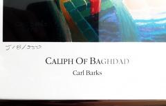 Carl Barks: Caliph of Bagdad (limitierter Kunstdruck), gerahmt