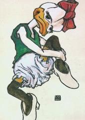 Poster Daisy sitzend INTERDUCK