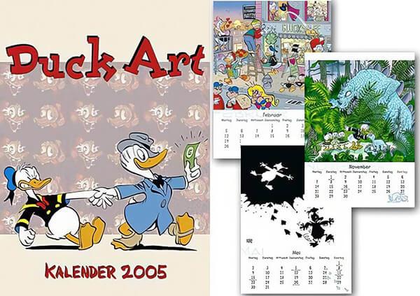 Der Donaldist Sonderheft 49: Duck Art Kalender 2005