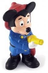 Micky Feuerwehrmann BULLY Kleinfigur