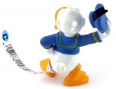Donald Duck hutziehend BULLY Kleinfigur