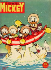 Le Journal de Mickey 84 (1954)