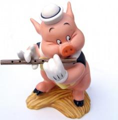 Schweinchen Pfeiffer: I Toot my Flute I Dont Give a Hoot