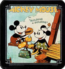 Cigarettendose Micky Maus Building a Building (DÉMONS & MERVEILLES)