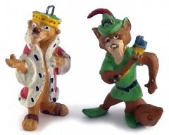 Robin Hood & Sir John (2 Hängefiguren)