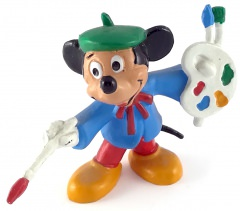 Micky Maler BULLY Kleinfigur